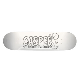 Casper the Friendly Ghost Logo 2 21.3 Cm Mini Skateboard Deck