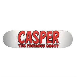 Casper the Friendly Ghost Red Logo 1 20.6 Cm Skateboard Deck