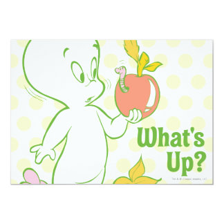 Casper What's Up 13 Cm X 18 Cm Invitation Card