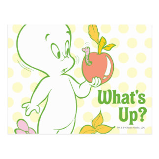 Casper What's Up Postcard