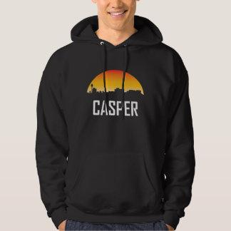 Casper Wyoming Sunset Skyline Hoodie