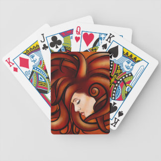 Cassandrina V1 - jellyhair Bicycle Playing Cards