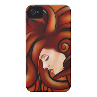 Cassandrina V1 - jellyhair iPhone 4 Case-Mate Case