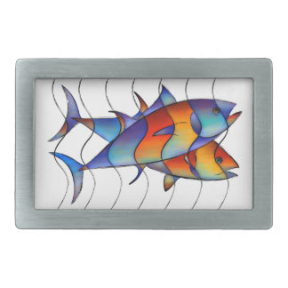 Cassanella - dream fish belt buckles