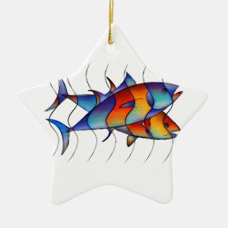 Cassanella - dream fish ceramic ornament