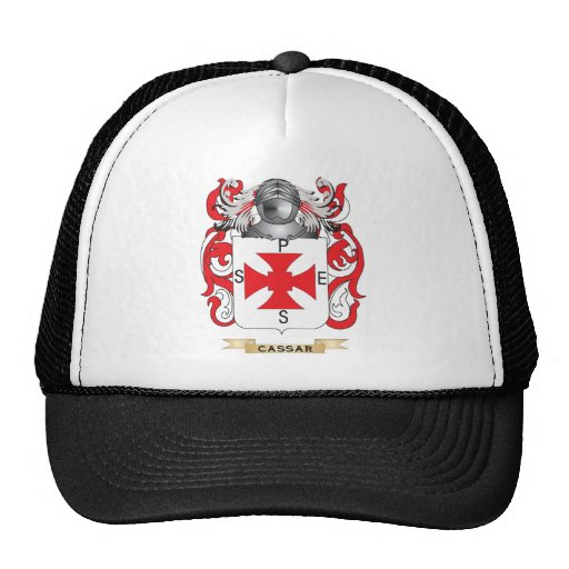 Cassar Coat of Arms (Family Crest) Mesh Hat
