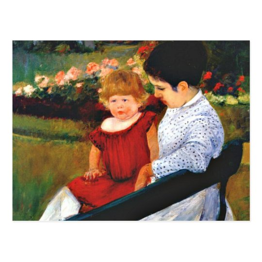 Cassatt - In the Park Postcard