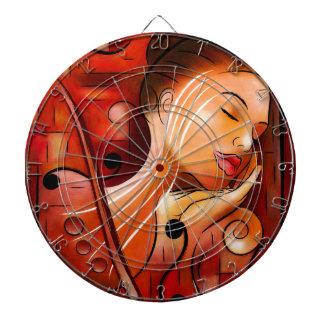 Casselopia - Violin dream Dartboard