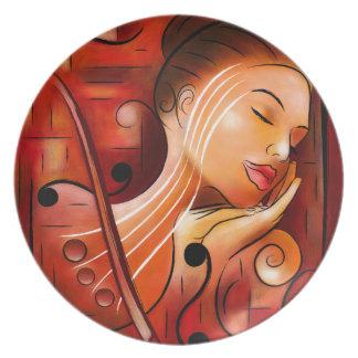 Casselopia - Violin dream Plate