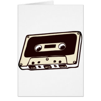CASSETE TAPE A GREETING CARD