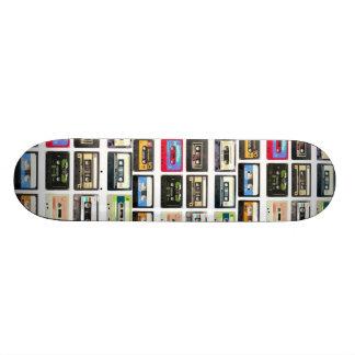 cassette 19.7 cm skateboard deck