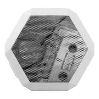 cassette white boombot rex bluetooth speaker