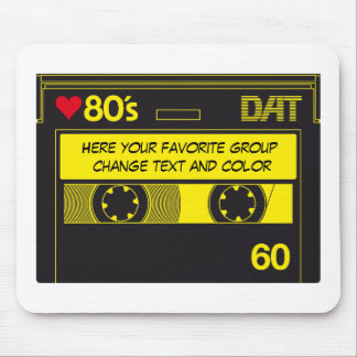 CASSETTE LOVE 80´s Mouse Pad
