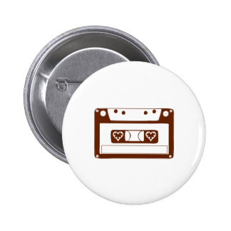 Cassette Love Pins
