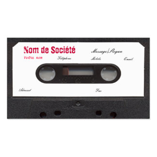 Cassette of visit!