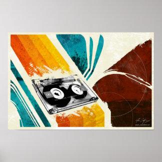 Cassette Player Poster