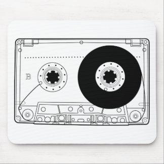 cassette retro graphic vintage t-shirt casette mousepad
