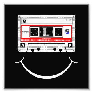 Cassette Smile Art Photo