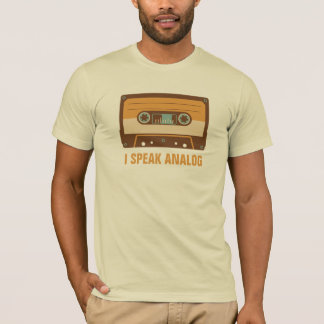 Cassette Tape Analogue Design Personalised T-Shirt