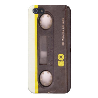 Cassette Tape Black iPhone 4 Case