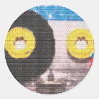 Cassette Tape Brick Sticker