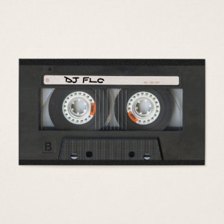Cassette Tape Business Cards for DJ's