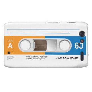 Cassette Tape Motorola Droid RAZR Covers