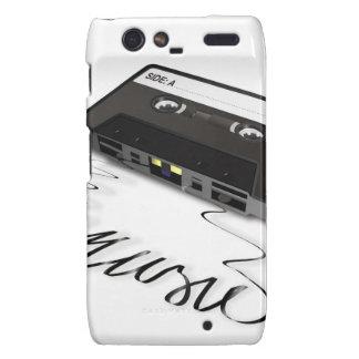 Cassette Tape Droid RAZR Cases