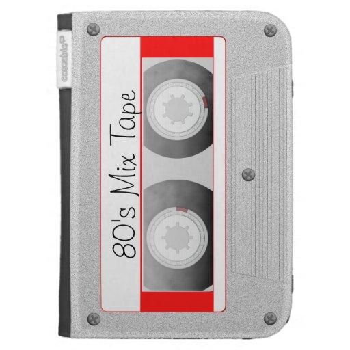 Cassette Tape Kindle Folio Cases