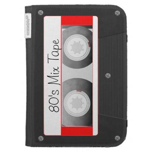 Cassette Tape Kindle Folio Case