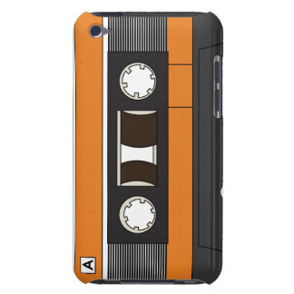 Cassette Tape Case Orange