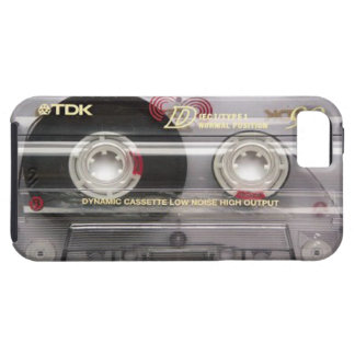 Cassette Tape Clear iPhone 5 Case