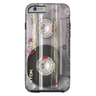 Cassette Tape Clear iPhone 6 case