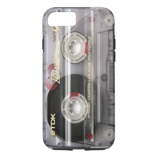 Cassette Tape Clear iPhone 7 case
