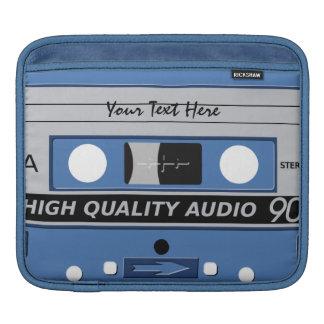 Cassette Tape custom laptop / iPad sleeve
