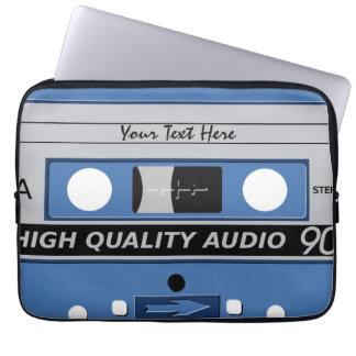 Cassette Tape custom laptop sleeves