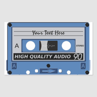 Cassette Tape custom stickers