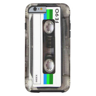 Cassette Tape Green iPhone 6 case Tough iPhone 6 Case