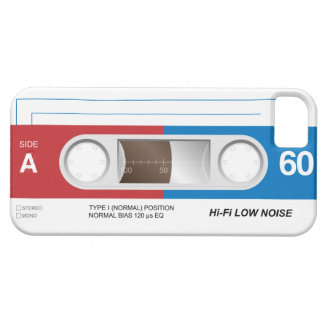 Cassette Tape iPhone 5 Cover