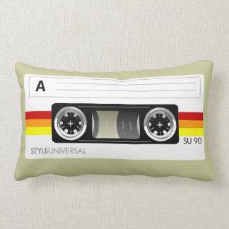 Cassette tape label American Mojo pillow