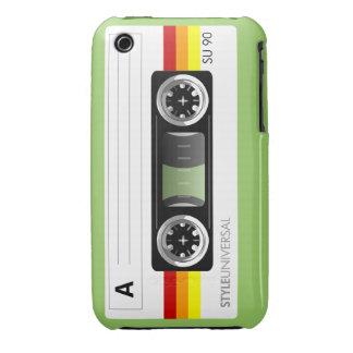 Cassette tape label Case-Mate iPhone 3 case