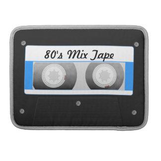 Cassette Tape Sleeves For MacBooks