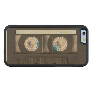 Cassette Tape Maple iPhone 6 Bumper