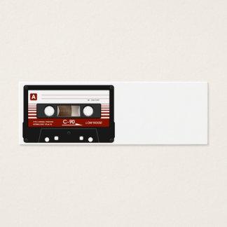 Cassette Tape Mini Business Card