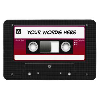 Cassette Tape Mixtape Rectangular Magnets