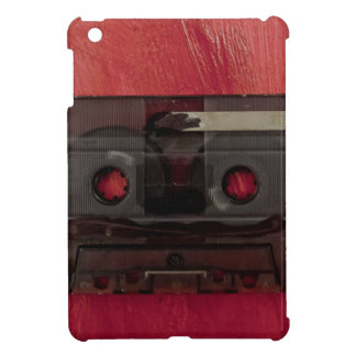 Cassette tape music vintage red iPad mini covers