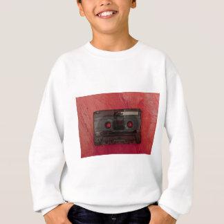 Cassette tape music vintage red sweatshirt
