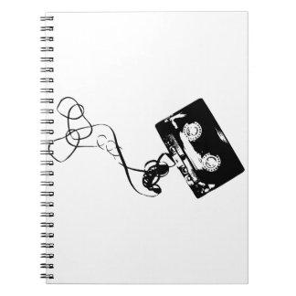 Cassette Tape Notebooks