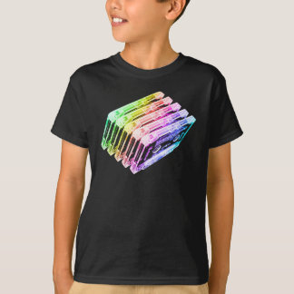 Cassette Tape Rainbow T-Shirt
