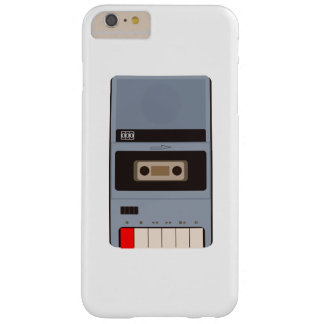 Cassette Tape Recorder Barely There iPhone 6 Plus Case